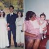 A primeira foto mostra meus pais, Lucia e Gerdeilson Botelho, no dia do seu casamento, com meus queridos avós paternos, Osvaldo (desde 2010 na Pátria Espiritual) e Therezinha Botelho, dois Legionários da Boa Vontade de Deusque dedicaram toda sua vida à LBV e à nossa família. Na segunda foto, estou com meus avós maternos,Belizário Theodoro Alves, no Mundo da Verdadedesde 2005, e Marina de Souza. Meu vozinho não perdia um programa da Super Rede Boa Vontade de Rádio e sempre pedia que levássemos a ele os livros do Irmão Paiva e as mais novas edições da revista Jesus Está Chegando!todo ano, quando o visitávamos no Rio de Janeiro. Na certeza de que estamos sempre juntos, um beijo de toda a família! Amamos vocês! (Jéssica Helena Botelho)
