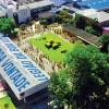 Vista panorâmica do Instituto de Educação José de Paiva Netto, localizado na capital Paulista, ao lado da Supercreche Jesus.