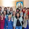Buenos Aires, Argentina — Simpatizantes de la Religión Divina en visita a la Iglesia Ecuménica de la Religión del Tercer Milenio