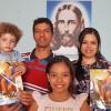 Uberaba, MG– Família participa do Encontro das Igrejas familiares da Religião Divina.