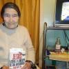 ARAPONGAS, PR — A senhoraAna Bassani com muita Fé Realizante, realiza a Cruzada do Novo Mandamento de Jesus em seu lar.