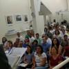 Franca, SP — Vista parcial do público presente na inauguração.