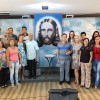 Goiânia, GO – Na manhã deste domingo, 20, famílias estudam sobre a Volta Triunfal de Jesus, durante o Encontro das Igrejas Familiares da Religião Divina.