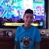 New Jersey, Estados Unidos — Bryan Alexander Fernandez, de 12 anos, também acompanhou a apresentação musical e se animou com as músicas legionárias. =D