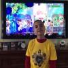 """New Jersey, Estados Unidos — O Soldadinho de Deus, da LBV, Adrian Lucius Fernandez, de 12 anos,assistiu ao espetáculo musical """"Os Milagres de Jesus"""" e vibrou junto com todas as crianças."""