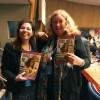 Simpática, a sra. Carole Shawsaudou a LBV e aparabenizou pelo excelente trabalho de educação e empoderamento das mulheres. A sra. Carole é uma das palestrantes na Conferência e Conselheira-Especialista Internacional de Governos e Agências da ONU para os Assuntos de Justiça e Igualdade de Direitos.