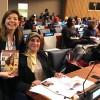 A sra. Bassima Hakkaoui, ministra da Solidariedade, Família, Igualdade e Desenvolvimento Socialdo Marrocos.
