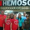 FLORIANÓPOLIS, SC — Jovens de todas as idades realizam ação solidárianoHEMOSC.
