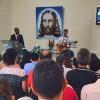 Adamantina, SP — Vista parcial da Igreja Ecumênica da Religião Divina, que passou por reformae foi inaugurada neste sábado, 10 de dezembro.