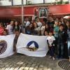 Campo Grande, RJ — A campanha de Entronização do Novo Mandamento de Jesus nos Corações de Boa Vontade foi um sucesso. Olha quanta alegria sem baixaria transmitida por esses jovens de todas as idades! :)