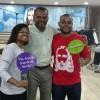 Rio de Janeiro. RJ — Família feliz e reunida na Religião do Terceiro Milênio no bairro de Del Castilho.