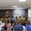 São José dos Campos, SP — As crianças apresentaram Músicas Legionárias durante a abertura do 17º Fórum Internacional dos Soldadinhos de Deus, da LBV.