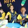 Piracicaba/SP — Com sorriso estampado no rosto, crianças atendidas pela LBV comemoram o recebimento dos kits de material pedagógico doados pela Legião da Boa Vontade!