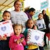 Mogi das Cruzes, SP — As mães ficaram felizes ao receberem seus cobertores da campanha