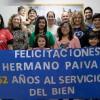 Buenos Aires/Argentina — Cristãos do Novo Mandamento de Jesus prestam homenagem ao Irmão Paiva Netto.