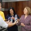 Brasília, DF — No Encontro, as famílias forampresenteadas com garrafas de Água Fluidificada.