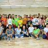 Americana, SP - Nesta oficina, os jovens participaram da coreografia do Grupo de Dança Boa Vontade, formado por integrantes de várias cidades do interior paulista.