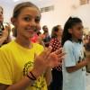 Americana, SP - Felizes, os Soldadinhos de Deus, da LBV, também apreciaram esta atividade doMovimento Jovem da Religião de Deus, do Cristo e do Espírito Santo.