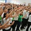 Americana, SP - Jovens Ecumênicos, de todas as idades, cantam e vibram com os acordes das Músicas Legionárias apresentadas na ocasião.
