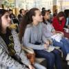 São Paulo, SP - Pré-Juventude Legionária atenta aos recados iniciais das Rodas Espirituais e Culturais, da LBV.