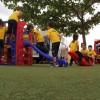 Taguatinga, DF - Vale ressaltar que a área de lazer da Escola de Educação Infantil da LBVpossui grama artificial multifuncional, que permite que as crianças se divirtam brincando em um ambiente criado especialmente para elas.