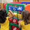 Taguatinga, DF - Os novos brinquedos da aéra de laze da Escolacontribuem para o desenvolvimento das habilidades cognitivas, afetivas e sociais das crianças.