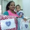 Porto Alegre, RS — Mulheres atendidas no programa Cidadão-Bebê são beneficiadas com a campanha Diga Sim, da LBV!