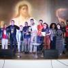 Maringá, PR - Em 3° lugar no Festival Internacional de Música, da LBV, a banda Referencial Jesus, de Florianópolis, SC.