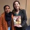 Sra. Kala Swarnakar, presidente da Organização de Dalits Feministas, da delegação do Nepal.