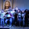 CURITIBA,PR – Lucas Marchesan e Samuel Gomes conquistaramo primeiro lugar naEpata Sul, do Festival Internacional de Música, da LBV.