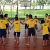 Crianças e adolescentes frequentam a LBV no horário inverso ao da escola e participam de diversas oficinas lúdicas e educativas, na garantia de seus direitos.