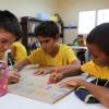 Nas salas de atividades, as crianças e os adolescentes são acompanhados por nossa equipe multidisciplinar, que trabalha diversos temas, incentivando-os ao protagonismo infantojuvenil.
