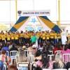 As meninas e os meninos que integram o programa Criança: Futuro no Presente! deram prosseguimento à programação cultural, entoando diversas músicas do repertório legionário.