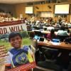 Nova York, EUA — Presente na Reunião de Alto Nível do Ecosoc, a LBV apresenta a revista BOA VONTADE Desenvolvimento Sustentável 2018, disponível em espanhol, francês, inglês e português.