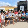 Irauçuba, CE — Famílias beneficiadas pela LBV demonstram alegria e gratidão pelo recebimento das cestas de alimento.