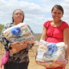 Irauçuba, CE — A importância da entrega das cestas de alimento é expressa no sorriso e no olhar de gratidão de cada atendido.