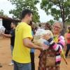 Irauçuba, CE — Felicidade e gratidão foram os sentimentos expressos pelos atendidos. Com a ação, a LBV renovou as esperanças de muitas famílias.