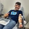 BRASÍLIA, DF —Militante da Boa Vontade de Deusfeliz ao participar de ação que valoriza a vida.