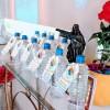 SANTA RITA DO SAPUCAÍ, MG — Além das homenagens, as mães, de filhos biológicos e de realizações no Bem, receberam uma garrafa de Água Fluidificada com todo o lenitivo da Espiritualidade Superior.