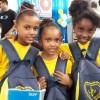 São José dos Campos/SP — A campanha Criança Nota 10! disponibiliza aos atendidos kits de material pedagógico com diversos itens para incentivar os pequenos aos estudos.
