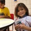 Manaus, AM — A pequena Eduarda ficou muito feliz em participar das atividades do Fórum Internacional dos Soldadinhos de Deus, da LBV. ♥