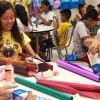 """Manaus, AM — Por meio de atividade artísticas, as crianças aprenderam sobre o tema """"Nossos Deveres e Direitos de Cidadãos Ecumênicos""""."""