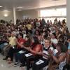 Porto Alegre, RS — Vista parcial do público presente na inauguração das novas instalações da Igreja Ecumênica da Religião de Deus, do Cristo e do Espirito Santo.