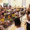 Manaus, AM — As crianças fizeram apresentações para o público presente no evento. =)