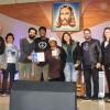 Glorinha, RS — No Festival Internacional de Música, da LBV, o 2º lugar ficou com a Jovem Legionária Juliana Nayara, dePorto Alegre, RS.