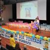 Abertura da Festa das Crianças pela Assessora Administrativa da LBV, Noys Rocha