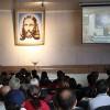 Curitiba, PR — Com grande alegria, presidente-pregador da Religião de Deus, do Cristo e do Espírito Santo fala à multidão no 42º Fórum Internacional do Jovem Ecumênico da Boa Vontade.