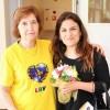 Arlete Paiva da LBV e aDra. Sílvia Cunha, Chefe da Divisão Municipal de Promoção da Saúde da Câmara Municipal do Porto