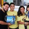 """Brasília, DF — Família reunida na nova edição do Fórum e já com o livro """"Vamos orar com Jesus""""."""