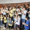 Brasília, DF — Coral Infantojuvenil Boa Vontade na abertura do17º Fórum Internacional dos Soldadinhos de Deus, da LBV.
